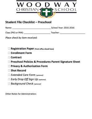 printable student sign in sheet preschool fill out download