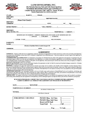 Land Contract Form Nebraska. LAND DEVELOPERS, INC