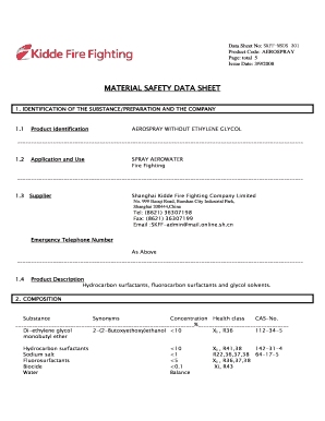 Chubb Fire Extinguishers Data Sheets Fill Online Printable Fillable Blank Pdffiller