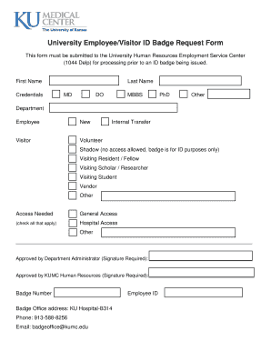 109 printable id badge template forms fillable samples in pdf