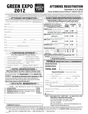 Printable green card for spouse processing time form to submit green expo green expo attendee registration december 4562012 trump taj mahal casino resort atlantic citynj new jersey turfgrass associationnjtaproudly altavistaventures Images