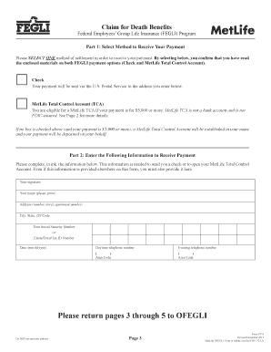 Metlife Life Insurance >> Editable Metlife Life Insurance Claim Form Fillable Printable
