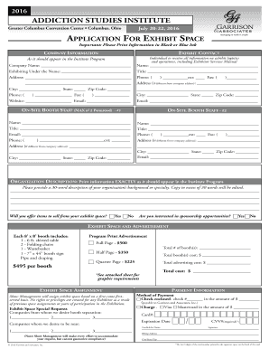 Fillable online exhibitor registration form addiction for Federal motor carrier safety regulations handbook pdf