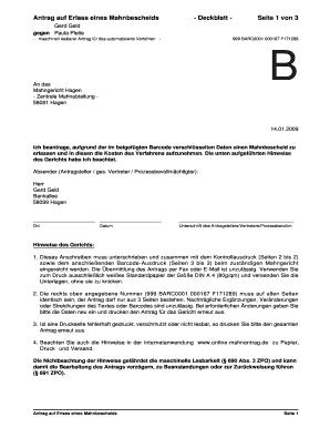 Fillable Online Justiz Hamburg Antrag Auf Erlass Eines Mahnbescheids