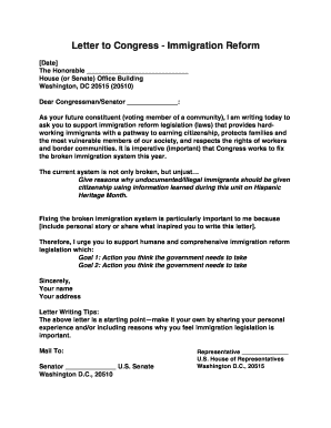 21 Printable support letter for immigration Forms and Templates