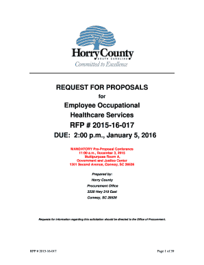 Fillable Online RFP 2015-16-017 - Open Minds Fax Email Print