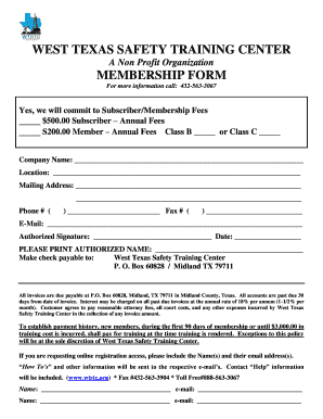 Wtstc membership form reif fill online printable fillable preview of sample form rating thecheapjerseys Choice Image