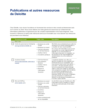 audit engagement letter deloitte - Editable, Fillable & Printable