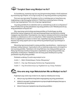 Ang Utang Panlabas Ng Pilipinas - Fill Online, Printable
