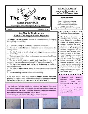 Raeycnygmailcom The News Inside This Edition