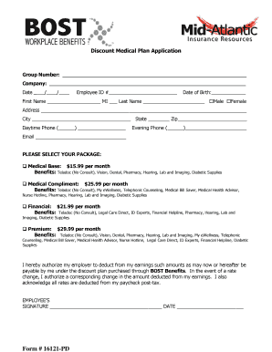 Employee Payroll Deduction BApplicationb   Monthly   ProSites