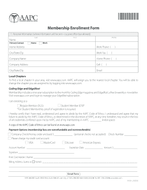 aapc fax cover sheet form