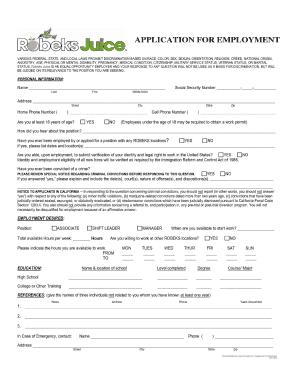 Baskin Robbins Application - Fill Online, Printable, Fillable ...
