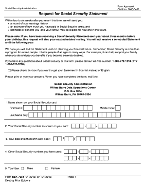 Social security form 4201 fill online printable fillable blank social security form 4201 thecheapjerseys Gallery