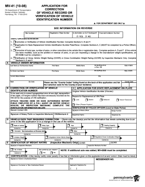 Bill of sale form pennsylvania divorce form templates for Pa motor vehicle inspection