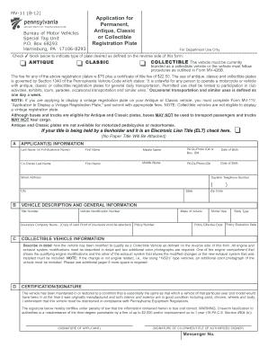 Mv11 Form - Fill Online, Printable, Fillable, Blank | PDFfiller