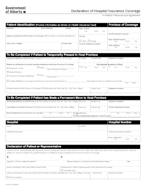 Hospital Form Fill - Fill Online, Printable, Fillable, Blank ...
