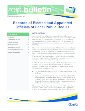 Records of elected and appointed fill online printable fillable preview of sample oipc altavistaventures Image collections