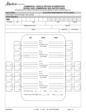 vehicle service records by vin Forms and Templates - Fillable ...