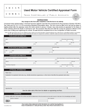 Fillable Online Texas Form 14 128 Fax Email Print Pdffiller