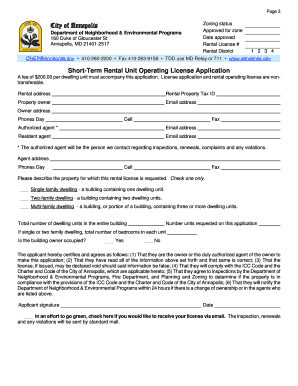 Short-Term Rental Application.doc. Application For Youth Pass - annapolis