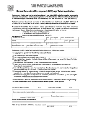 Palm Beach County School District Health Forms