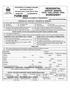Fillable Online chulavistaca Form 4562 - Chula Vista - chulavistaca ...