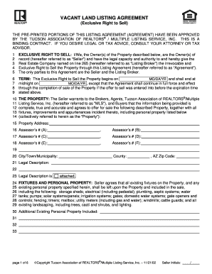 Vacant Land Purchase Agreement Forms And Templates
