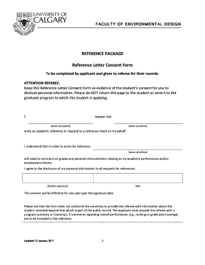 reference letter fill form