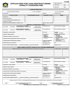 sss condonation form