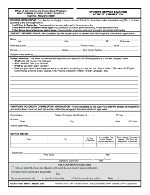 Mcps Ssl Form Fill Online Printable Fillable Blank Pdffiller