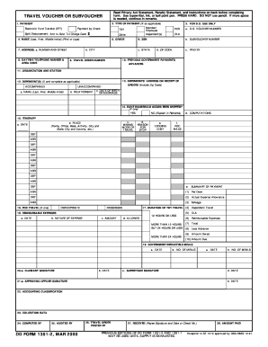 Dd Form 1351 Templates - Fillable & Printable Samples for PDF ...