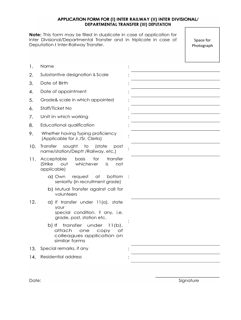 On Request Transfer Application - Fill Online, Printable, Fillable