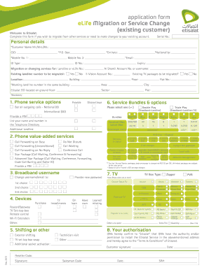 Etisalat Logo - Fill Online, Printable, Fillable, Blank