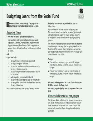 how to get a social fund loan