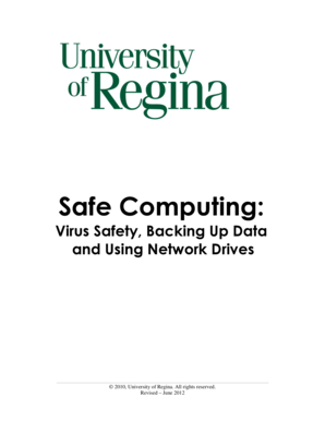 Safe Computing - University of Regina - uregina