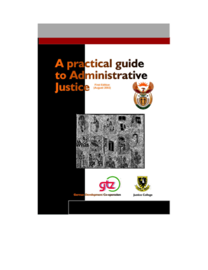 Practical Guide - Department of Justice and Constitutional ... - justice gov
