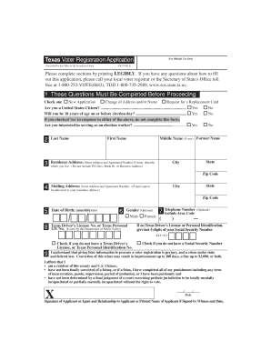 Bill Of Sale Form Illinois Voter Registration Application ...