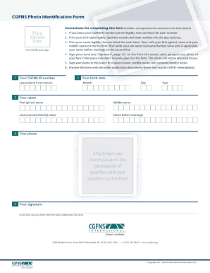 Cgfns Booking - Fill Online, Printable, Fillable, Blank | PDFfiller