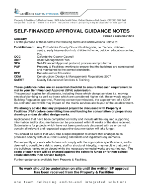 Occ Self Finance Approval Form - Fill Online, Printable, Fillable ...