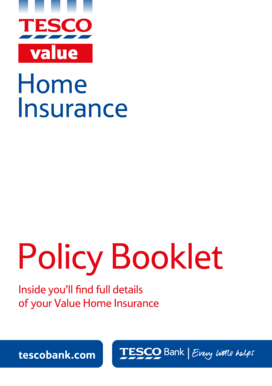 Ageas Home Insurance Policy Booklet