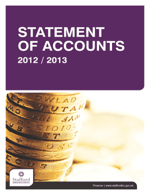 Statement of Accounts 2012-b2013b Full Document - Stafford bb