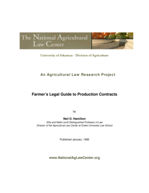 Farmer39s Legal Guide to Production Contracts - National Agricultural bb - nationalaglawcenter