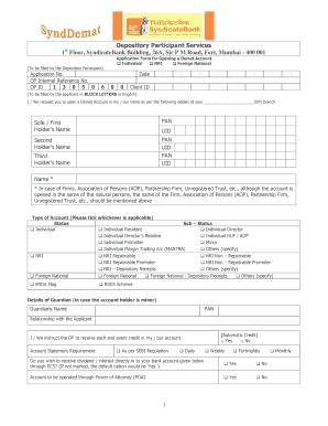 18 Printable kyc form for bank Templates - Fillable Samples