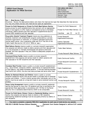 dshs food stamp review application