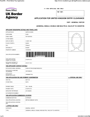 Visa4ukgovuk - Fill Online, Printable, Fillable, Blank | PDFfiller