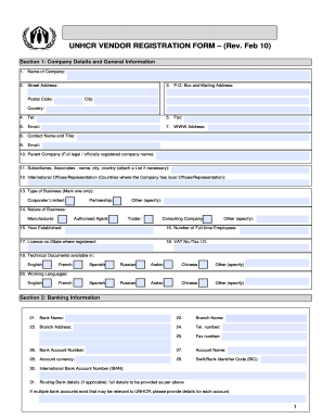 Unhcr Online Application - Fill Online, Printable, Fillable, Blank ...