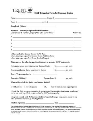 osap repayment assistance application online
