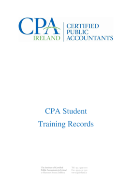 Training Records - Institute of Certified Public Accountants In Ireland bb