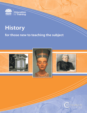History for those new to teaching the subject - Curriculum Support